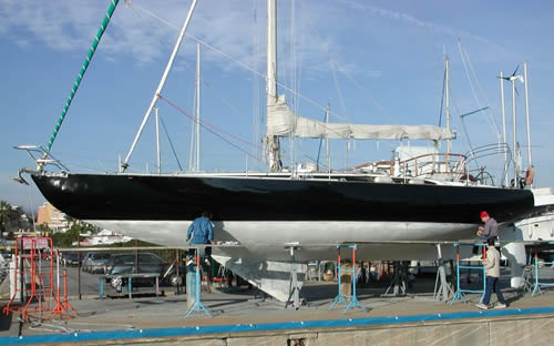 Yacht designer dick young